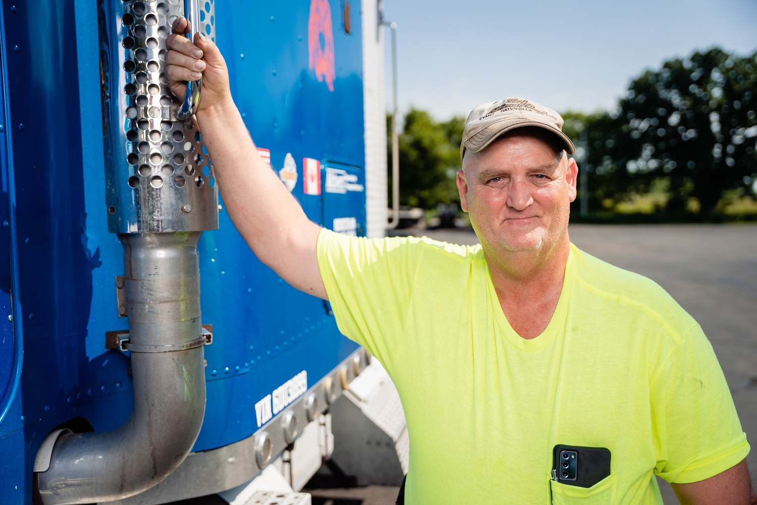 Owner Operator Mike Penny-25-percent